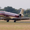 TAG Aviation, Challenger 850, G-RADY<br /> By Jim Calow.