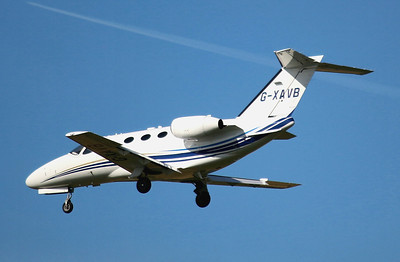 Aviation Beaufort Cessna 510 Citation Mustang G-XAVB. By Graham Miller.