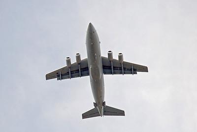 RAF BAe 146-200QC ZE708. By Graham Vlacho.