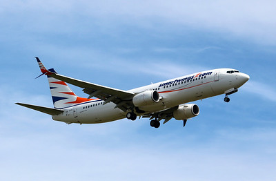 SmartWings 737-800 OK-TVV. By Graham Miller.