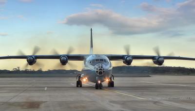 Cavok Airlines Antonov An-12BP, UR-CEZ By Correne Calow.
