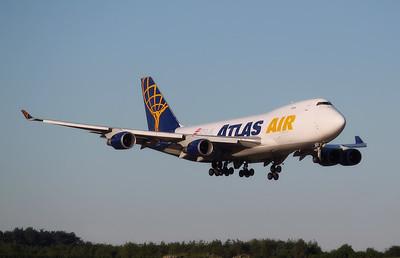 Atlas Air 747-400F N408MC By Graham Miller.