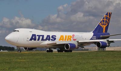 Atlas Air 747-400F N408MC By Jim Calow.