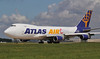 Atlas Air 747-400F N408MC<br /> By Jim Calow.