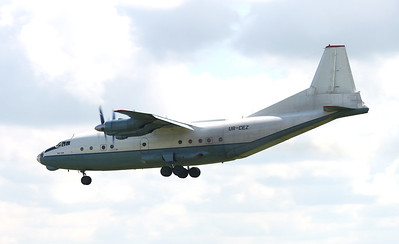 Cavok Airlines Antonov An-12BP, UR-CEZ By Graham Miller.