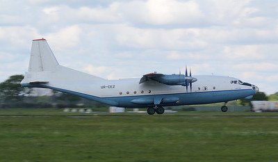 Cavok Airlines Antonov An-12BP, UR-CEZ By Jim Calow.