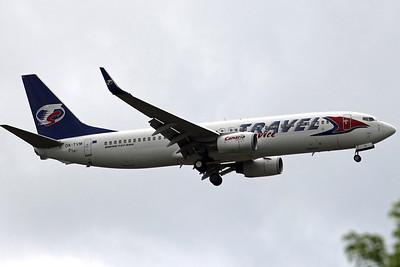 Travel Service, 737-800, OK-TVM By Graham Vlacho.