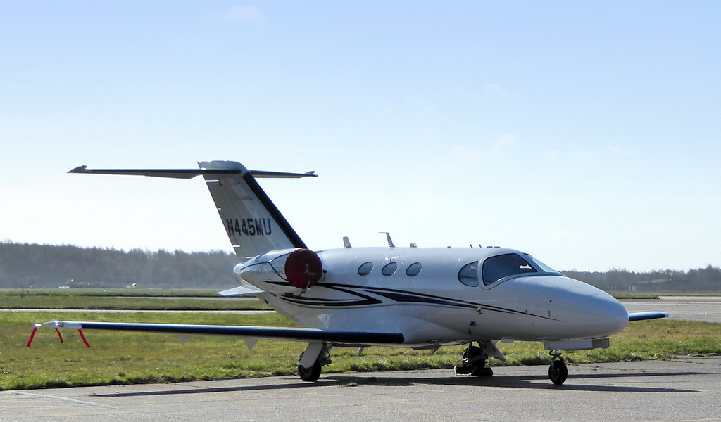 Cessna 510 Citation Mustang, N445MU<br /> By Correne Calow.