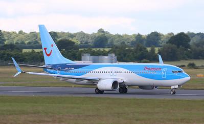Thomson Airways, 737-800, G-TAWI By Correne Calow.