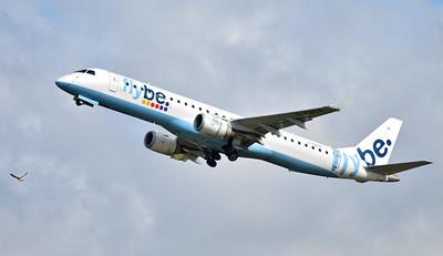 Flybe ERJ-195LR G-FBEN By Callum Devine.