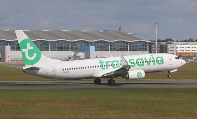 Transavia, 737-800, PH-HZE By Correne Calow.