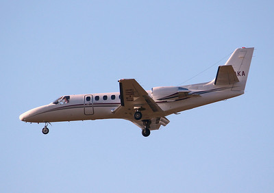 Cessna 560 Citation V, A7-AKA By Graham Miller.