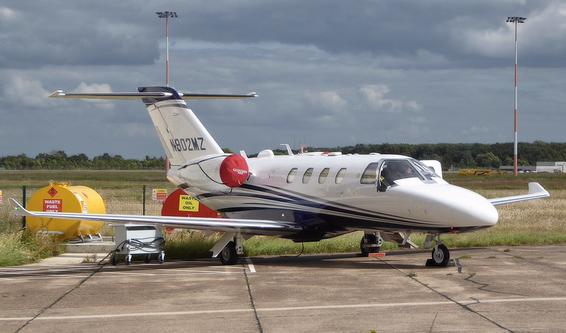 Textron Aviation Cessna 525 CitationJet M2 N902MZ.<br /> By Correne Calow.