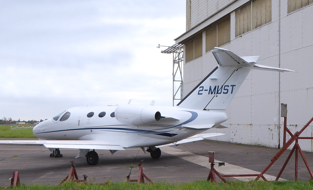 Cessna 510 Citation Mustang, 2-MUST<br /> By Correne Calow.