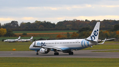 Flybe, Embraer ERJ-190-200LR, G-FBEK By Correne Calow.
