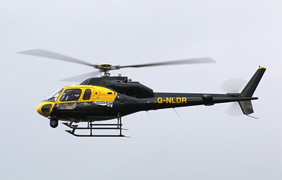 Network Rail's Aerospatiale AS355F2 Ecureuil II, G-NLDR By Correne Calow.
