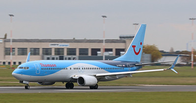 Thomson Airways, 737-800, G-FDZX By Correne Calow.