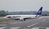 Travel Service 737-800 OK-TSE.<br /> By Jim Calow.