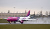 Wizz Air A320 HA-LWP.<br /> By Callum Devine.