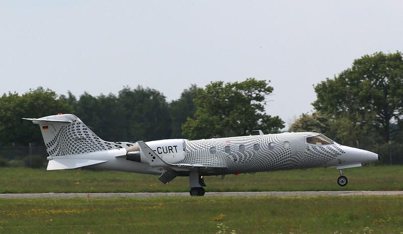 Air Traffic GmbH LJ31A D-CURT<br /> By Correne Calow.
