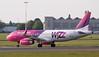 Wizz Air A320 HA-LYC.<br /> By Jim Calow.