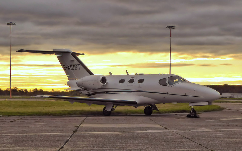 Cessna 510 Citation Mustang 2-MUST.<br /> By Correne Calow.
