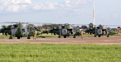 """Ironman"" formation.....Army Air Corps Lynx AH.9's ZG917, ZE380, ZF537. By Jim Calow."
