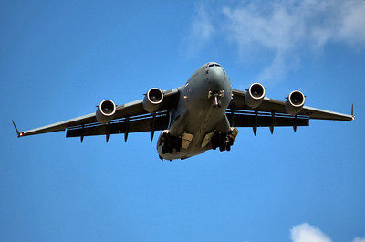 Royal Air Force Boeing C-17A Globemaster III , ZZ176 By Graham Miller.