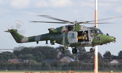 Army Air Corps Lynx AH.9 ZF537. By Jim Calow.