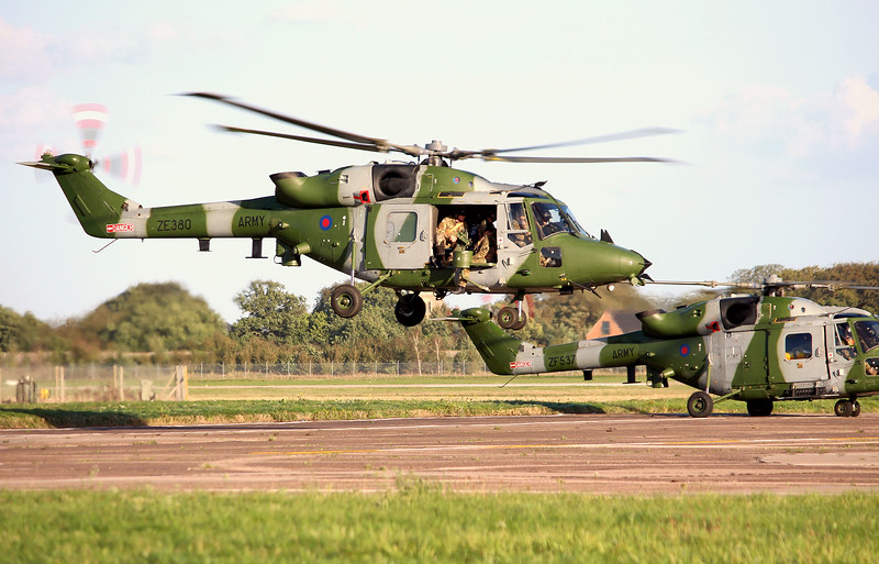 Army Air Corps, Westland Lynx-AH.9A, ZE380<br /> By Graham Miller.
