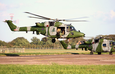 Army Air Corps, Westland Lynx-AH.9A, ZE380 By Graham Miller.