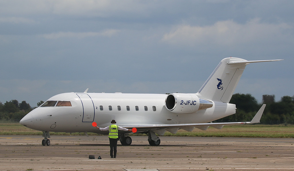 Volare Aviation, Challenger 601-3A, 2-JFJC<br /> By Correne Calow.