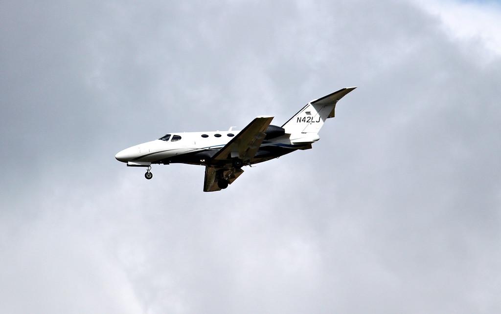 Whittlewood Aviation, Cessna 510 Citation Mustang, N42LJ<br /> By Graham Miller.