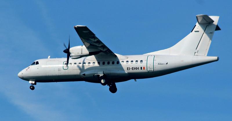 Stobart Air (Aer Lingus) ATR-42 EI-EHH.<br /> By Lez York.