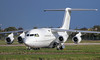 Cello Aviation BAe 146-200 G-RAJJ.<br /> By Jim Calow.