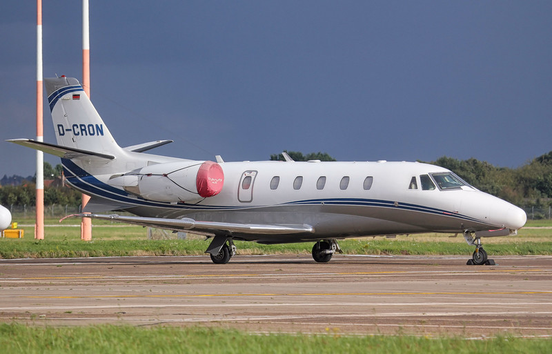 Silver Cloud Air Cessna 560XL Citation XLS D-CRON.<br /> By Jim Calow.