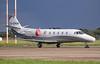 Silver Cloud Air Cessna 560XL Citation XLS D-CRON.<br /> By Jim Calow.
