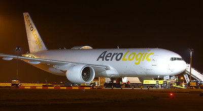 Aerologic 777-200F D-AALC. By Correne Calow.