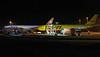 Aerologic 777-200F D-AALC & DHL A300F4-622R D-AZMO.<br /> By Jim Calow.