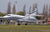 2TS LLC, Falcon 900EX, N945TM arriving from Milan.<br /> By Jim Calow.
