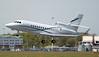 2TS LLC, Falcon 900EX, N945TM departing for Farnborough,<br /> By Graham Miller.