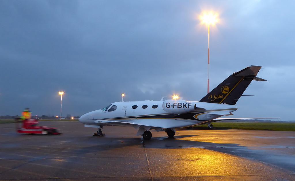 Blink Ltd,  Cessna 510 Mustang G-FBKF (ex MyJet,  I-STCC)<br /> By Correne Calow
