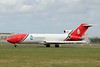 T2 Aviation, B722, G-OSRA.<br /> By Clive Featherstone.