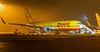 DHL 767-300F G-DHLH preparing to depart for Cincinnati.<br /> By Callum Devine.