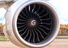 """Southern Air, 777-200F, N777SA...........The GE90-110B is one of the most powerful turbofans in existence, with it's 12' 8"""" diameter fan this particular engine is capable of producing a phenomenal 110,760lb of thrust.<br /> By Jim Calow."""