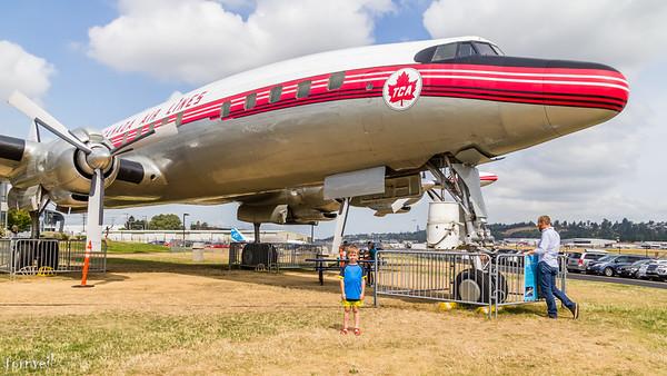 2017-08-14 Museum of Flight with Edmund