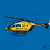 Metro Life Flight Medical Helicopter Flyby