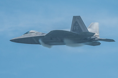 Condensation on the F-22