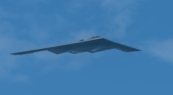 "B-2 Spirit Bomber - ""Spirit of Alaska"" from Whiteman AFB, Missouri"
