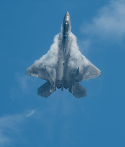 F-22 Raptor from 1st Fighter Wing, Langley AFB, VA